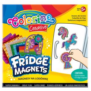 Magnesy na lodówkę COLORINO CREATIVE wzór KONIE (36957)