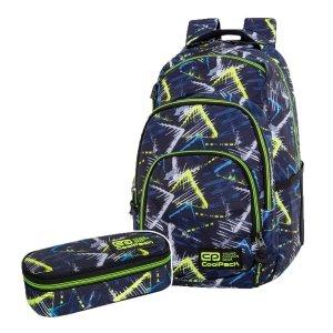 ZESTAW 2 el. Plecak CoolPack VANCE 20 L trójkąty, VIGO (C37149SET2CZ)