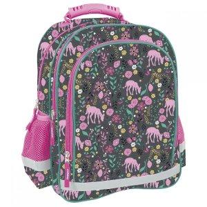 Plecak szkolny w różowe sarny PINK DOE (PL15BDF10)