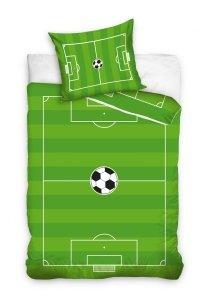 Pościel bawełniana FOOTBALL Piłka Nożna 160 x 200 cm komplet pościeli (SOC181109B)