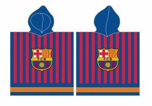 PONCZO FC BARCELONA ręcznik kąpielowy z kapturem (FCB192057)