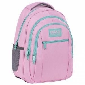 Plecak szkolny młodzieżowy BackUP 26 L PASTELOWY RÓŻ (PLB4O36)