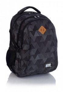 Plecak HEAD w szare trójkąty, GREY TRIANGLES  HD-233 (502019022)