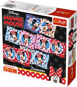TREFL Gra pamięciowa DOMINO Myszka Minnie (01600)