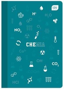 Zeszyt tematyczny przedmiotowy A5 60 kartek w kratkę z polipropylenową okładką CHEMIA (93992)