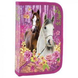 Piórnik z wyposażeniem I LOVE HORSES Konie (PWJKO15)