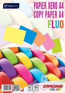Papier ksero kolorowy A4 FLUO 5 kolorów 100 arkuszy (36494)
