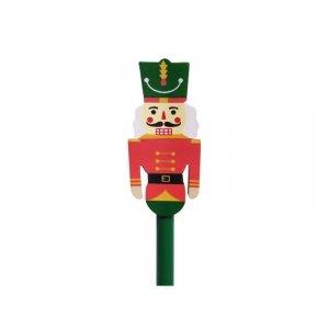 Ołówek świąteczny z dużą  gumką DZIADEK DO ORZECHÓW INCOOD MIX (0088-0043)
