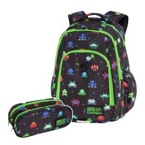 ZESTAW 2 el. Plecak CoolPack STRIKE L 27 L piksele, PIXELS (C18233SET2CZ)