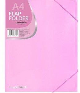 Teczka na dokumenty A4 CoolPack PASTEL PINK różowa (81452CP)