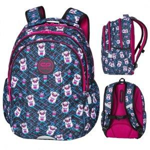 Plecak wczesnoszkolny CoolPack JOY S 21L pieski, DOGS TO GO (D048322)