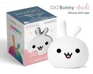 Silikonowa lampka GIO Bunny INNOGIO Króliczek (LJC-122)