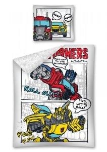 Komplet pościeli pościel Transformers 140 x 200 cm (TRF11)