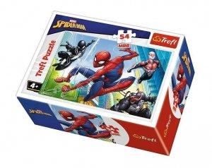 TREFL Puzzle mini 54 el. Spiderman (19606)