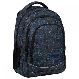 Plecak szkolny młodzieżowy BackUP 26 L WZORY (PLB3X46)
