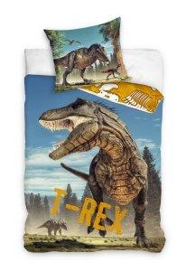 Pościel bawełniana Jurassic World DINOZAUR 160 x 200 cm komplet pościeli (TREX181001)