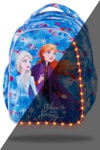 Plecak wczesnoszkolny CoolPack LED JOY S Kraina Lodu, FROZEN 2 (B47306)