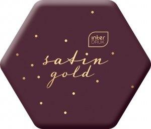 Gumka do mazania szkolna SATIN GOLD Bordowa (95842)