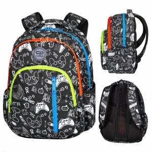 Plecak CoolPack BASE 27 L pady, GAME OVER (D027326)