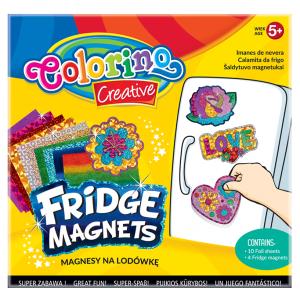 Magnesy na lodówkę COLORINO CREATIVE wzór LOVE (36957)