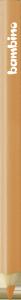 KREDKA TRÓJKĄTNA BAMBINO w oprawie drewnianej CIELISTA (03738)