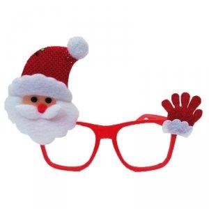 Okulary plastikowe świąteczne MIKOŁAJ (902381)