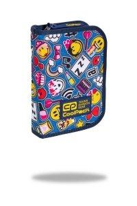 Piórnik CoolPack bez wyposażenia CLIPPER Emoji EMOTIKONY (C76142)