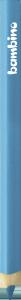KREDKA TRÓJKĄTNA BAMBINO w oprawie drewnianej NIEBIESKA (03684)