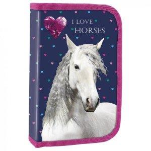 Piórnik z wyposażeniem I LOVE HORSES Konie (PWJKO17)