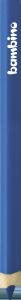KREDKA TRÓJKĄTNA BAMBINO w oprawie drewnianej GRANATOWA (03691)