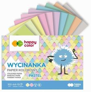 Papier kolorowy wycinanka A4 PASTEL Happy Color (41501)