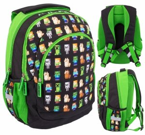 Plecak szkolny 24 L Minecraft MULTI CHARACTERS (502021200)