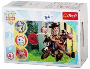 TREFL Puzzle mini 54 el. Wesoły świat Toy Story (19609)