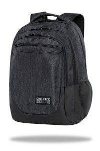 Plecak CoolPack SOUL 27 L czarny, SNOW BLACK (C10164)
