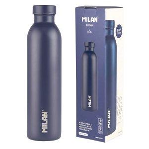 Bidon butelka izotermiczna Milan 591ml GRANATOWA (643020B)