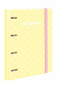 CoolPack Segregator A4 z kartkami RING BOOK Pastel Yellow (87942CP)