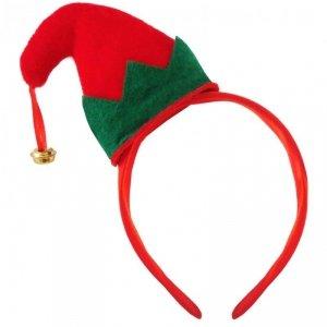 Opaska świąteczna na głowę ELF (0111-0026)