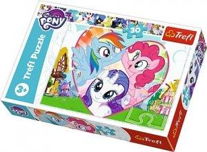 TREFL Puzzle 30 el. Razem lepiej, My Little Pony (18241)