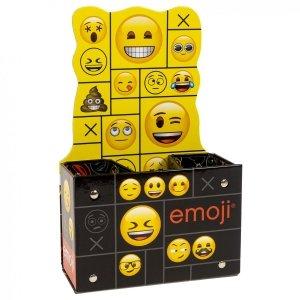 Biurkowy pojemnik na przybory szkolne Emoji EMOTIKONY  (PPSEM01)