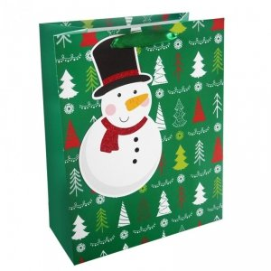 Torebka świąteczna na prezent BAŁWANEK Incood. (0071-0313)