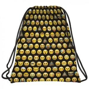 Worek na obuwie BackUP Emoji EMOTIKONY (WOB2AEM86)
