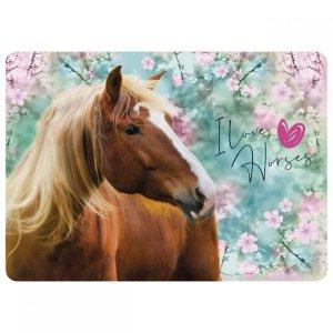 Podkładka laminowana I LOVE HORSES Konie (PLAKO19)