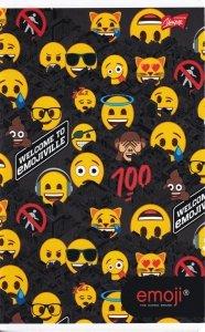Zeszyt A5 w linię 60 kartek Emoji EMOTIKONY mix (42281)