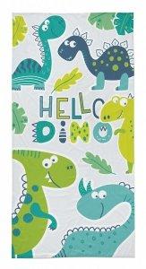 Ręcznik plażowy kąpielowy 70x140 DINOSAURS Dinozaury (WZÓR37)