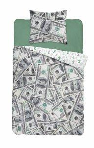 Pościel DOLARY $ 140 x 200 cm komplet pościeli (3624A)