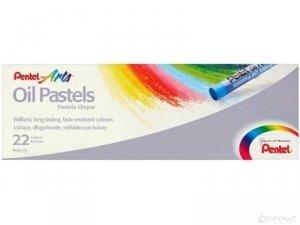 Pastele olejne szkolne 22 kolory PENTEL (PEN22)