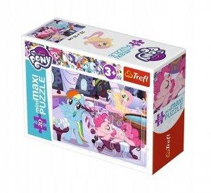 TREFL Puzzle miniMaxi 20 el. My Little Pony, Wesoły dzień kucyków (21077)