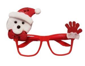Okulary plastikowe świąteczne MIŚ (902381)