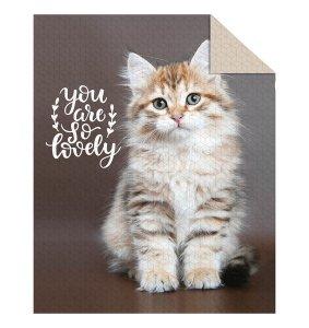 Narzuta dziecięca na łóżko CAT Kotek 170 x 210 cm (K034)
