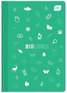 Zeszyt tematyczny przedmiotowy A5 60 kartek w kratkę z polipropylenową okładką BIOLOGIA (93978)